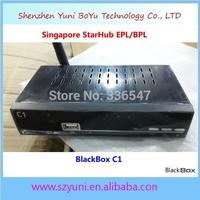 5pcs/lot Free Shipping Free Wifi for Singapore Streambox C1 DVB-C Digital Cable Reciever Support Starhub Full HD 1080P