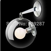 New Modern soap bubble wall lamp Italian Style Glass LED Lights New Year led light Christmas
