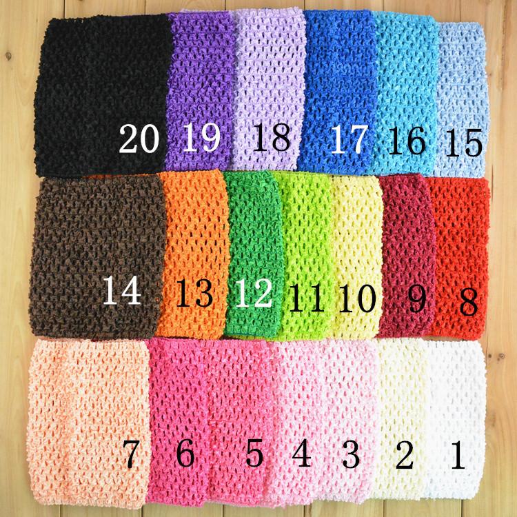 2014 New Arrival 15cmx15cm Baby Girl 6Inch Crochet Tutu Tube Tops Chest Wrap Wide Crochet headbands Free Shipping 10pcs/lot(China (Mainland))