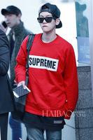 2014USA Fashion sweatshirts for women/man Harajuku Hoody Squares Letter Printed Pullovers Brand Personality Sportswear Coat