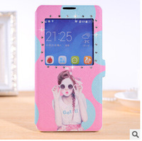 Huawei Honor 3C case TPU Crystal Stand Flip Cases for Honor 3C Huawei Case 14 Style Free Shipping