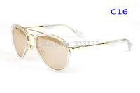 2015 women men fashion aviator style mirrored Sunglasses Designer Sun Glasses shades mirror stylist Gafas oculos de sol lunette