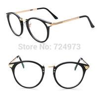 Outdoors fashion unisex metal Earstem eyeglasses frames/women men Europe designers brand spectacle frame eyeglasses