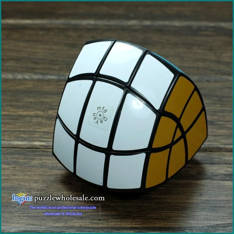 Professional Dayan MF8 Five Axis Sticker Pentahedron Magic IQ Cube(China (Mainland))