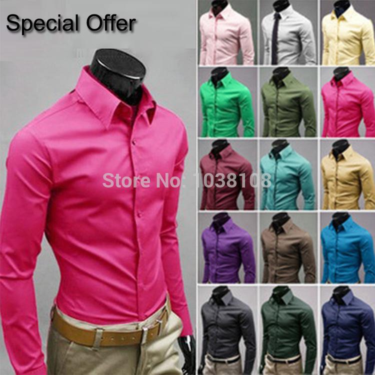 Мужская повседневная рубашка OEM Slim fit 17colors, : m/xxxl Casual Shirts мужская футболка oem slim fit 2 2 no