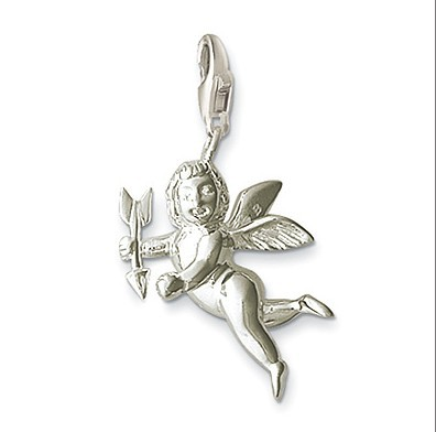 Free Shipping Hot Selling Hot Charm 2014 Tms Silver Factory Price Ts0024 Cupid Love Pendants