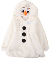 New winter frozen jacket, snow treasure cartoon coat cotton-padded clothes trade OLAF cotton-padded clothes, children's coat
