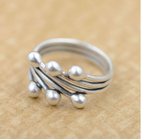 100% real pure 925 sterling silver rings for women wedding rings countless rich fruits best gift free shipping