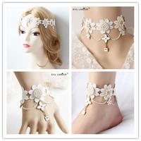 Necklace+bracelet+anklet+hairband set dubai jewelry sets white lace designer women jewelry set bijuterias joyas women