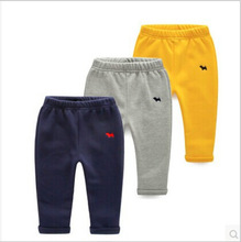 boys pants winter and autumn boy trousers thick warm cotton baby pants (China (Mainland))