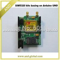 WCDMA shield for Arduino SIM5320A development kits