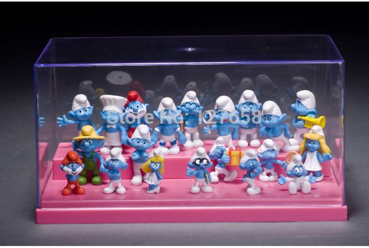 Wholesale MOQ=20pcs / H=3cm super cute Family portrait BLUE MAN Classics toy box egg bulk figure new box in stock now(China (Mainland))