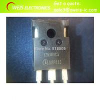 10pcs=1lot  SPW17N80C3 17N80C3 SPW17N80 TO247 100% in stock  Free shipping