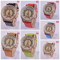 2014 New Hot Women Casual Quartz Watch round Dial Fashion Children Cute Boy Wristwatches Christmas gift