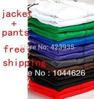 2014 New brand Unisex sportswear women men sport suits jersey long sleeve tracksuit jacket pants sports sweatshirts Leisure coat