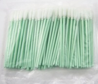 New 100Pcs Foam Tipped Cleaning Swabs For Printer Optical Camera Lens