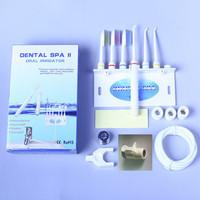 New  Oral Irrigator Dental SPA Teeth Cleaner Tooth Water Teeth Flossing Toothbrush Sets  3 water flossed jets + 3 Toothbrush