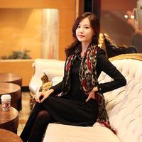 Korean version of the classic love leopard Scarf Shawl scarves Bali Beach air conditioning 100*180 DG8078