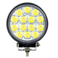 42W 14 LED Flood Working Light Epsitar LED for Truck Boat Jeep ATV SUV 4WD 4X4