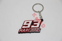 2014 Free Shipping Motorcycles 93 MARQUES  Rubber Keyring  The Doctor Keychain Key rings chains