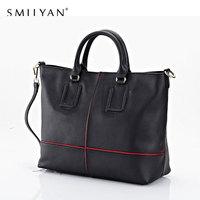 Smilyan genuine leather bag fashion desigual leather women handbag shoulder bags women messenger bags tote bolsas travel bags