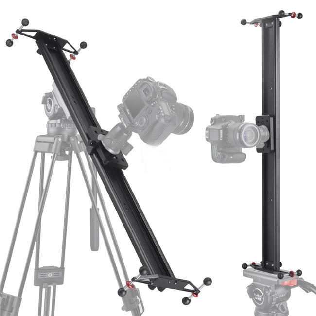 "39"" 100cm Studio Photo DSLR DV Camera Track Dolly Slider Video Stabilizer Stabilization System- free DHL shipping(China (Mainland))"