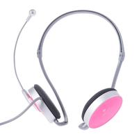 HD Desktop PC Headset with Microphone Neckband Earphone Adjustable Voice