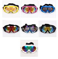 Hot Mono-layer  Ski Cycling Goggles Protective Glasses Winter Outdoor Sports Snowboard Anti UV400-Faster Shipping