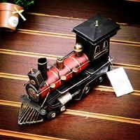 Tin metal handmade steam model crafts home decoration