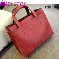 fashion scrub women messenger Bags vintage shoulder Bags casual bag handbags new 2015 HL2987