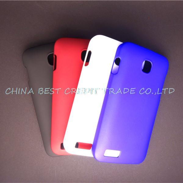 wholesale luxury rubber touch matte hard pc case for Fly IQ434 ERA Nano 5 case cover()