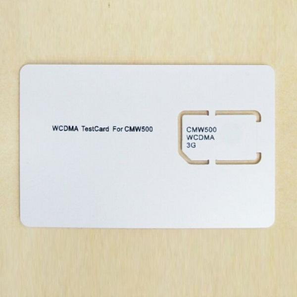 WCDMA SIM Card CMW500 3G Test Card