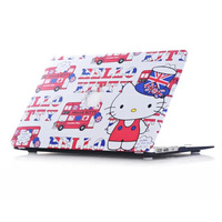 "Cute Hello Kitty Zebra Leopard Laptop Protection Shell Hard Matte Cover Case For Apple Macbook Air 11"" 13  Retina Pro 13"" 15"""