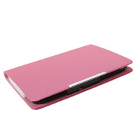 "7"" Tablet PC New Style PU Leather Case Cover for Q8 Series Pink"