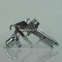 Taiwan Super Tin Pressure feed paint gun W-77 diaphragm pressure tank paint spray gun 2.0/2.5mm,Free Shipping