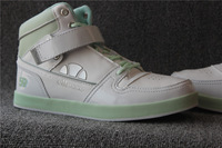 Lovers high shoes casual shoes velcro lovers design skateboarding shoes
