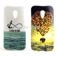 2pcs/lot Hot selling Soft TPU Animal Back case For Motorola Moto G2 G 2nd Gen XT1068 XT1069 Mobile Phone cover