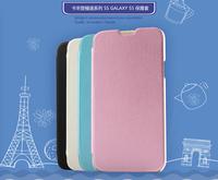 KLD Swift style Ultra Slim Hard Leather Folio Flip Cover Case for Samsung Galaxy S5 I9600