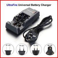 ( 20 pcs/lot ) UltraFire Universal WF-139 Dual 18650 Battery Charger AU Plug For 14500 18500 18650 Li-ion Battery Wholesale