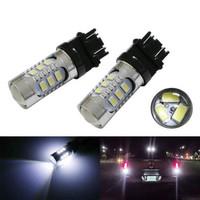 White High Power 15-SMD  3156 3056 T25 LED Bulbs For Backup Reverse Lights