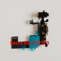 New Headphone Audio Charger Charging Data USB Dock Port Flex Cable For iPhone 5C Free Shipping