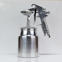 W-77 pneumatfic paint gun 2.0/2.5mm large-caliber furniture automotive primer paint spray gun with under cup