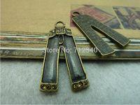 10Pcs Pant Charms Pendant Antiuqe Bronze Tone DIY Jewelry Making