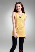 lady  fashion  women lady tank tops v-neck   lady tops fashion  XT_002938   new one size free shipping