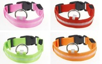 Special pet small dogs LED dog collar Noctilucent collar Luminous pet belt Free Shipping