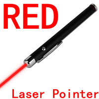 2014 NEW Free shipping and drop shipping  Ultra Powerful Red Laser Pen Pointer Beam Light 5mW  3PCS / LOT
