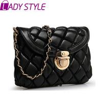 fashion women handbag vintage messenger Bags plaid shoulder Bags casual bag handbags new 2015 HL2996
