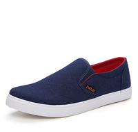 Men Slip-on Casual Shoes Spring/Autumn Canvas Loafers Shoes for men flats tenis masculino sapatos masculinos