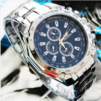 Full Steel Luxury Brand Military Watch Sports Casual Quartz Men Watches Business Wristwatches Precision Fashion Clock Relogios