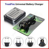 ( 3 pcs/lot ) TrustFire TR003P4 Universal 18650 Battery Charger UK Plug For CR123A 14500 18650 Li-ion Battery Wholesale